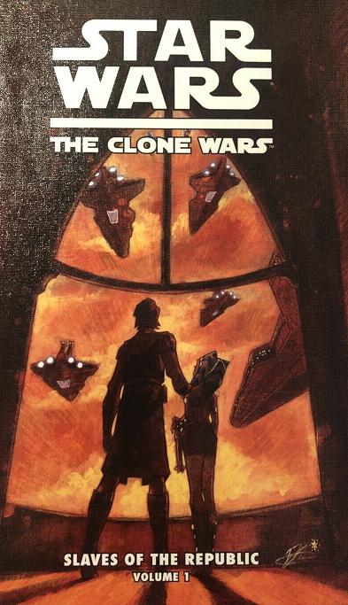 The Clone Wars Vol 1 #1 1st Appearance of Ahsoka Tano HARDCOVER comic Star Wars