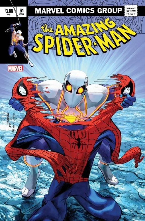 AMAZING SPIDER-MAN #50 Mike Mayhew Studio Variant Cover A /& B Set Signed w// COA