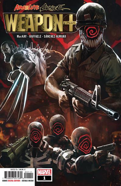 Details about  /Weapon X Noir #1