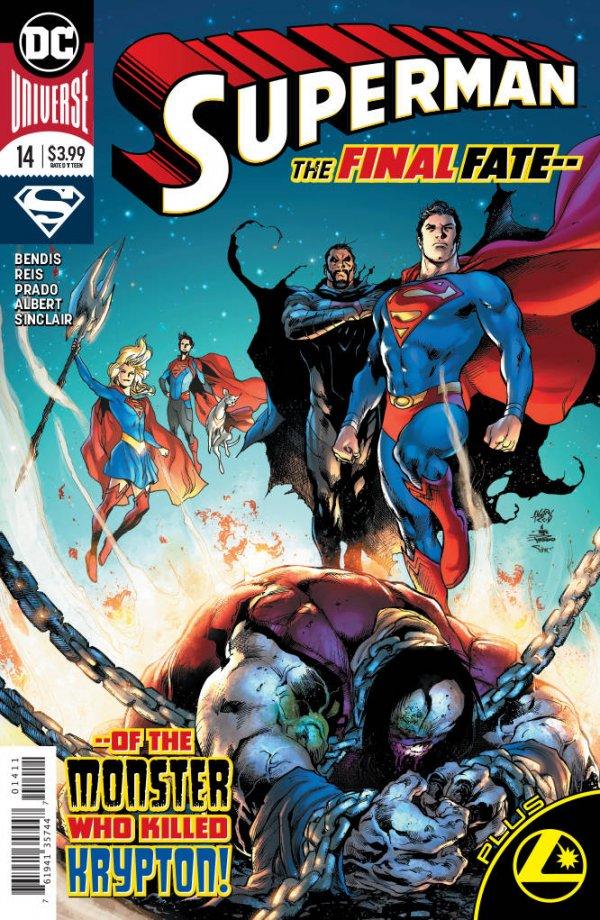 Superman #23 1st Appearance Xanadoth Cover Bendis Maguire 2020 Dc Comics