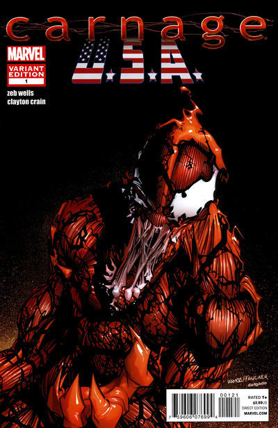 OF 5 LCSD 2019 ABSOLUTE CARNAGE #5 CHRISTOPHER VARIANT MARVEL COMICS EB05