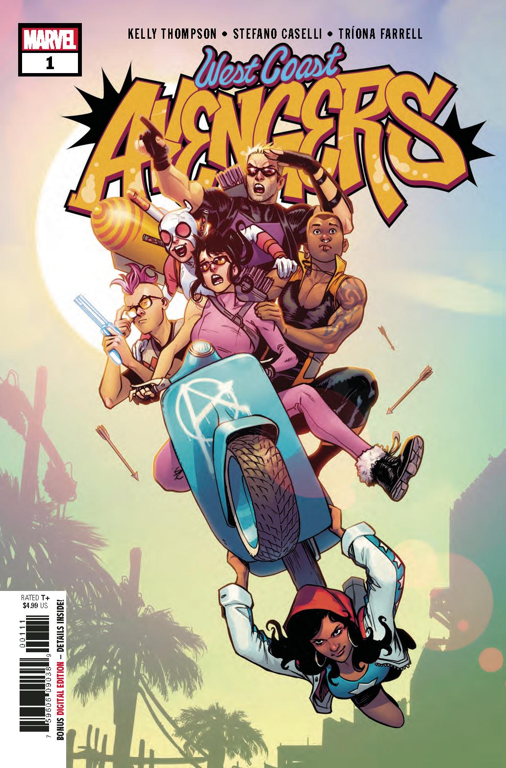 All-America Comix #1 1st app of America Vasquez Image Comics Joe Casey Chavez